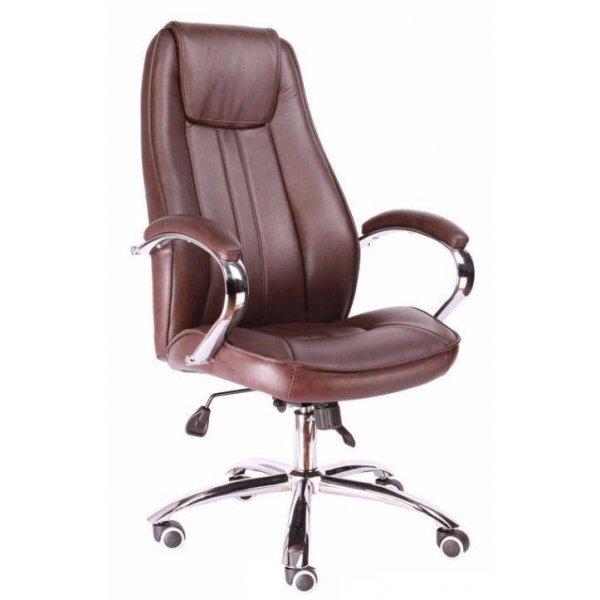 Кресло офисное Everprof LONG натуральная кожа