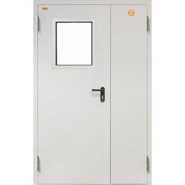 Металлическая дверь противопожарная ДПC-2 (2050х1250 мм)